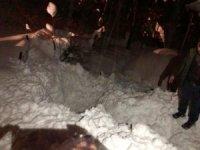 Çatıdan düşen kar kütlesi altında kalan yaşlı kadın öldü
