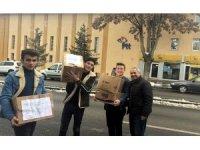 Gül-Celal Toraman Mesleki ve Teknik Anadolu Lisesi'nden Kitap Kumbaram Kampanyası