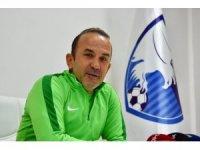 """Mehmet Özdilek: """"İkinci yarıya galibiyet ve moralle başlamak istiyoruz"""""""