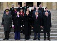 Hırvatistan Cumhurbaşkanı Kitaroviç, Anıtkabir'de