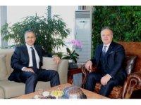 İstanbul Valisi Ali Yerlikaya TİM Başkanı İsmail Gülle'yi ziyaret etti
