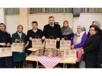 Başkan Kılıç'tan emekçi kadınlara jest, Sıfır Atık Projesi'ne destek