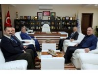 Vali Nayir'den Başkan Dişli'ye ziyaret