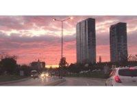 İstanbul'da kartpostallık günbatımı