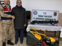 Tokat'ta bağ evinden hırsızlık