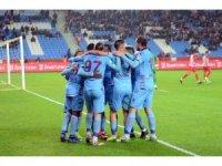 Ziraat Türkiye Kupası: Trabzonspor: 1 - Balıkesir Baltokspor: 0 (İlk yarı)