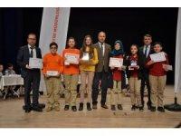 Biga'da ortaokullar arası bilgi yarışması