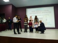 Niksar'da okuma kültürü 1. Ödül törenleri yapıldı