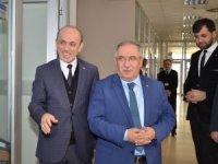 Vali Nayir'den Başkan Öztürk'e iade-i ziyaret