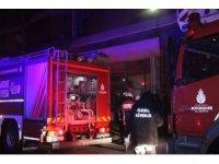 Dolapdere sanayi sitesinde yangın: 1 kişi öldü