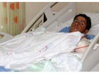 Ramazan protez kollarına kavuştu