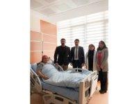 Eşme Devlet Hastanesinde bir ilk