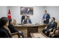 Gaziantep İl Sağlık Müdürü Uzm. Dr. Sarıfakı'dan Anka'ya ziyaret