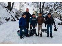 Dağlıca'da karne heyecanı