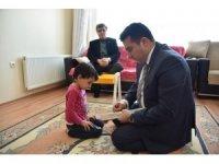 Başkan Bakıcı'dan hastalara moral ziyareti