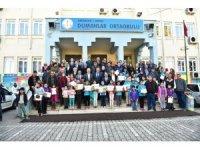 Aksu'da 13 bin 885 öğrenci karnesini aldı