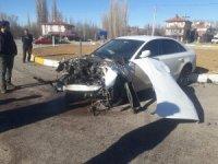 Beyşehir'de trafik kazası: 2 yaralı