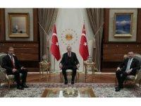 Cumhurbaşkanı Erdoğan, Venezuela Devlet Başkan Yardımcısı El Aissami ile bir araya geldi