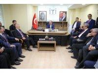 Bozbey'den İYİ Parti ve Saadet Parti Bursa İl Teşkilatlarına ziyaret