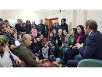Başkan Epcim, 6 ayrı aileyi evlerinde ziyaret etti