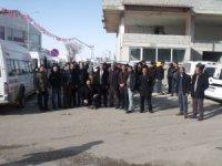 Saray Belediye Başkan Adayını törenle Van'a uğurlandı