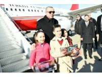 Cumhurbaşkanı Erdoğan Samsun'da