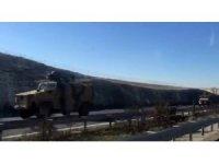 Gaziantep'ten Suriye sınırına askeri sevkiyatı
