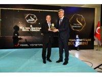 """Beypazarı """"Yılın Yerel Yöneticileri Ödül Törenine"""" ev sahipliği yaptı"""