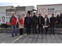 Afyon İHH'nın 'Kan Bağışı' kampanyasına gönüllü gençler destek verdi