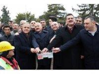 Suluova'da Yeni Şeker Camisi'nin temeli atıldı