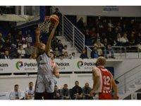 Türkiye Basketbol 1. Ligi: Petkim Spor : 101- Edirne Spor : 77
