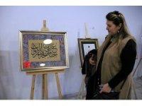 Kütahya'da merhum sanatçı Ömer Kısa anısına Hüsn-i Hat Sergisi
