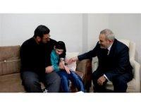 Müftü Çetin, engelli vatandaşlara ziyaretlerde bulundu