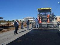 Aksu Karaçallı-Kemerağzı grup yolu sıcak asfalta kavuşacak