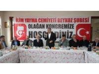 """Beykoz Belediye Başkan adayı Aydın: """"Eğitime desteğin bu topraklardaki öncüsü İlim Yayma Cemiyetidir"""""""