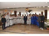 Başkan Kayda, başarılı judocuları kutladı