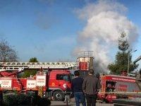 KTÜ'de yangın paniği
