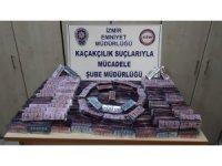 İzmir'de 17 bin 400 kaçak hap ele geçirildi