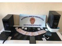 Polisten dolandırıcılık operasyonu