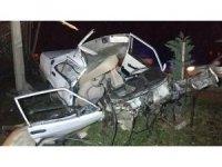Kayınvalidesini doktora götürürken kazada öldü