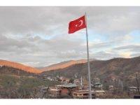 Nazilli'de dev Türk bayrağı gururu