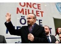 """AK Partili Turan: """"Sözüm ona milliyetçi olan bir parti kurup, milliyetçi oyları CHP'nin yanına götürmeye kalktılar, çalıştılar. Umduklarını bulamadılar"""""""