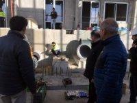 Hızırilyas HES'te türbinlerin montajı başladı