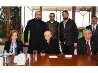 MHP Genel Başkanı Bahçeli Sakarya'da mola verdi