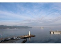 Çanakkale Boğazı sis sebebiyle gemi trafiğine kapatıldı