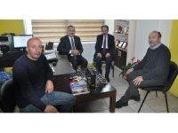 DSP Belediye Başkan Adayı Alibeyoğlu'ndan İHA'ya ziyaret