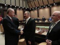 Cumhurbaşkanı Recep Tayyip Erdoğan ile sinema sektörü temsilcileri bir araya geldi