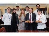 Trakya Üniversitesi aşçılık öğrencilerinden Alanya'da büyük başarı