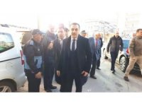 Vali Öksüz'den Başkan Toksoy'a ziyaret