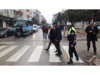 """Edirne'de """"Yaya Öncelikli Trafik"""" uygulaması"""